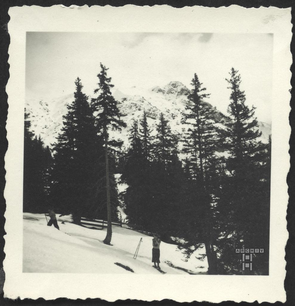 ArchivTappen2AAl2e790 Urlaub in den Bergen, Fotoalbum, 1930-1948