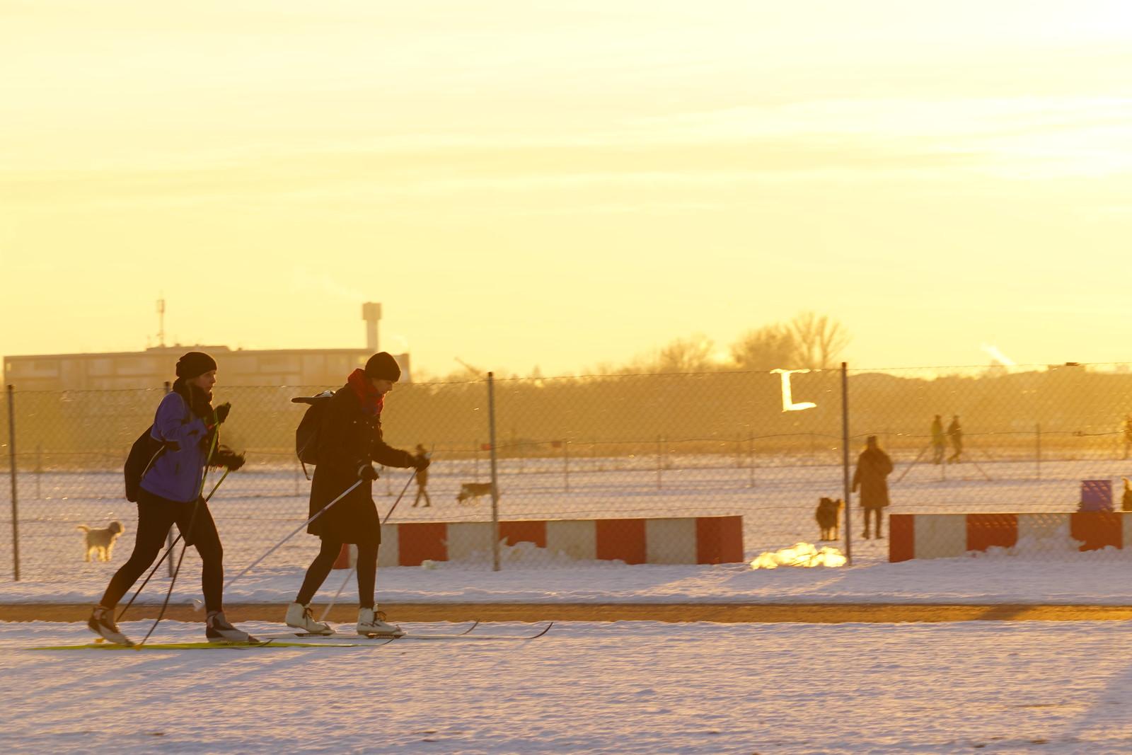 Langlauf Berlin Tempelhof