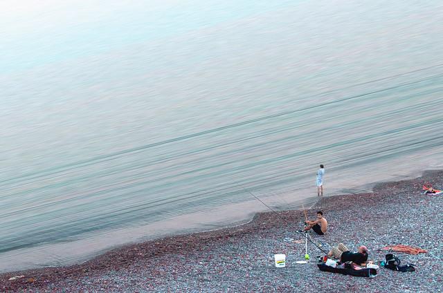 Fishing in the same sea
