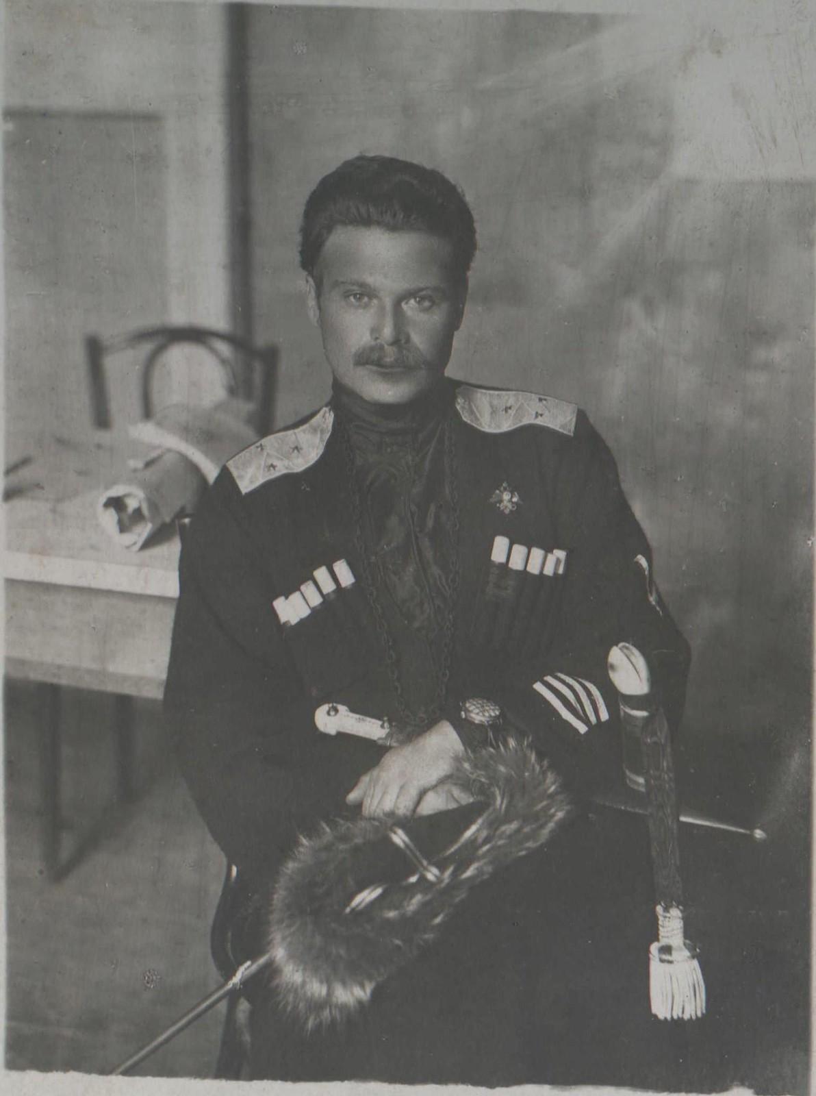 25. Генерал-лейтенант Андрей Григорьевич Шкуро