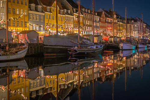 Nyhavn at night | by Amitylux tours