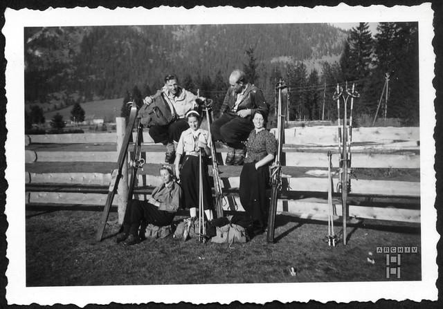ArchivTappen2AAl2e808 Urlaub in den Bergen, Fotoalbum, 1930-1948