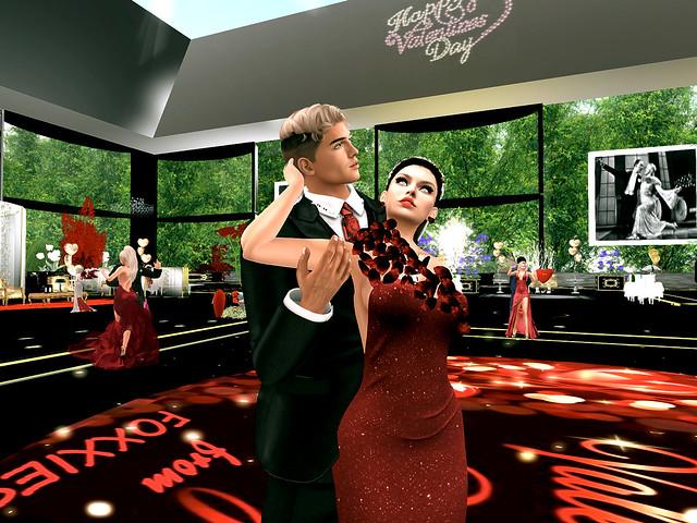 Foxxies Romantic Ballroom - First Valentine's Day
