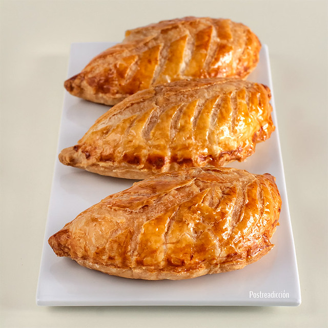 receta empanadillas manzana