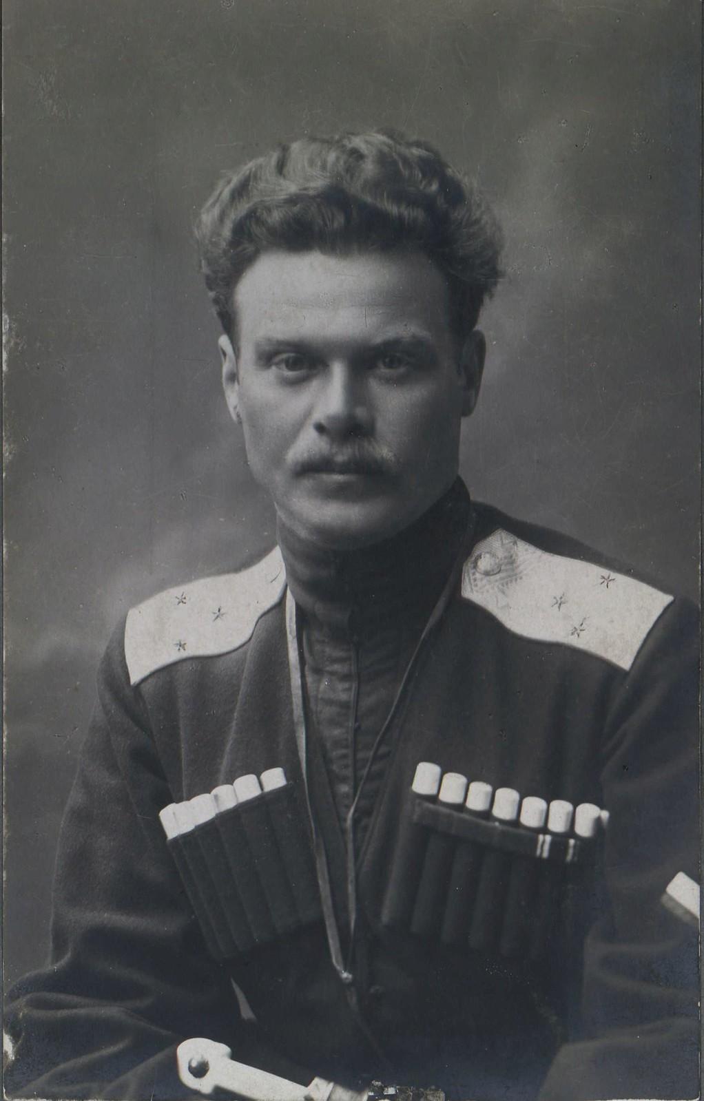 24. Генерал-лейтенант Андрей Григорьевич Шкуро
