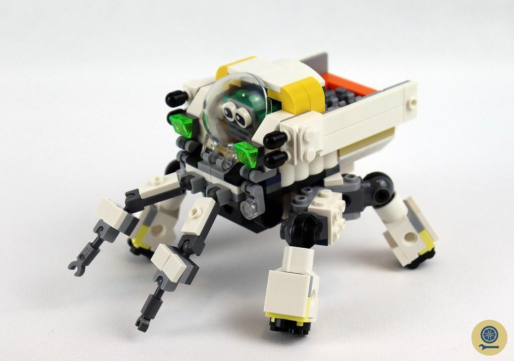 31115 Space Mining Mech 9