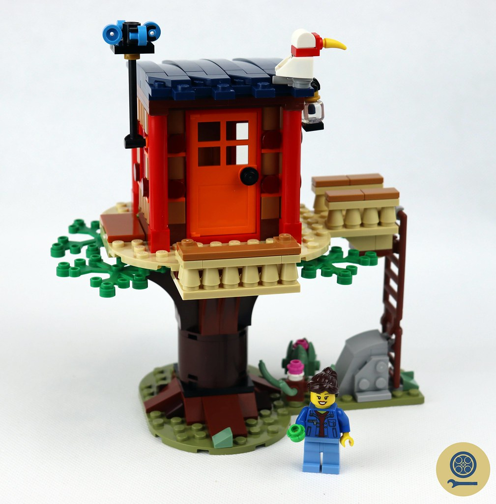 31116 Safari Wildlife Tree House 2
