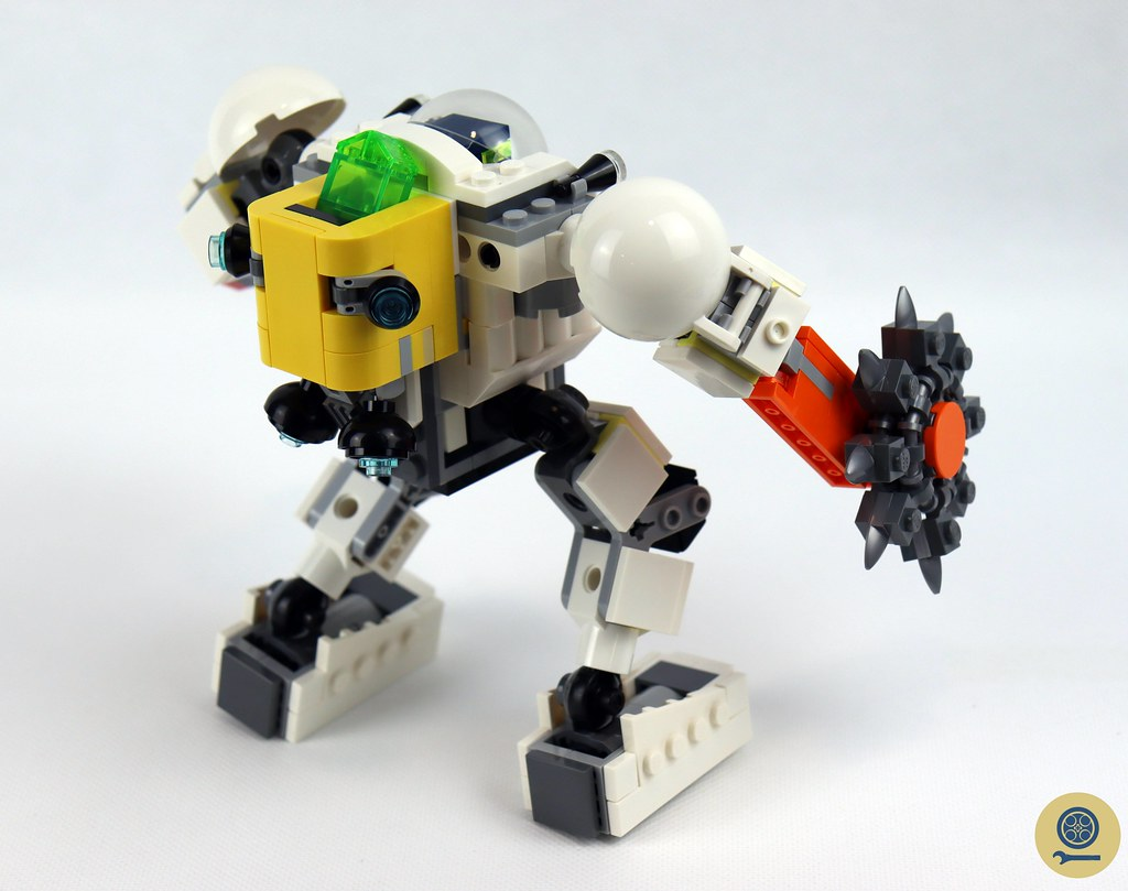 31115 Space Mining Mech 4