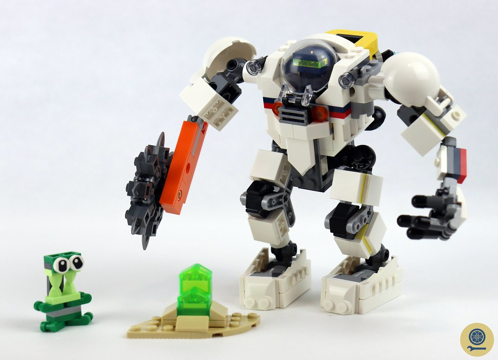 31115 Space Mining Mech 1