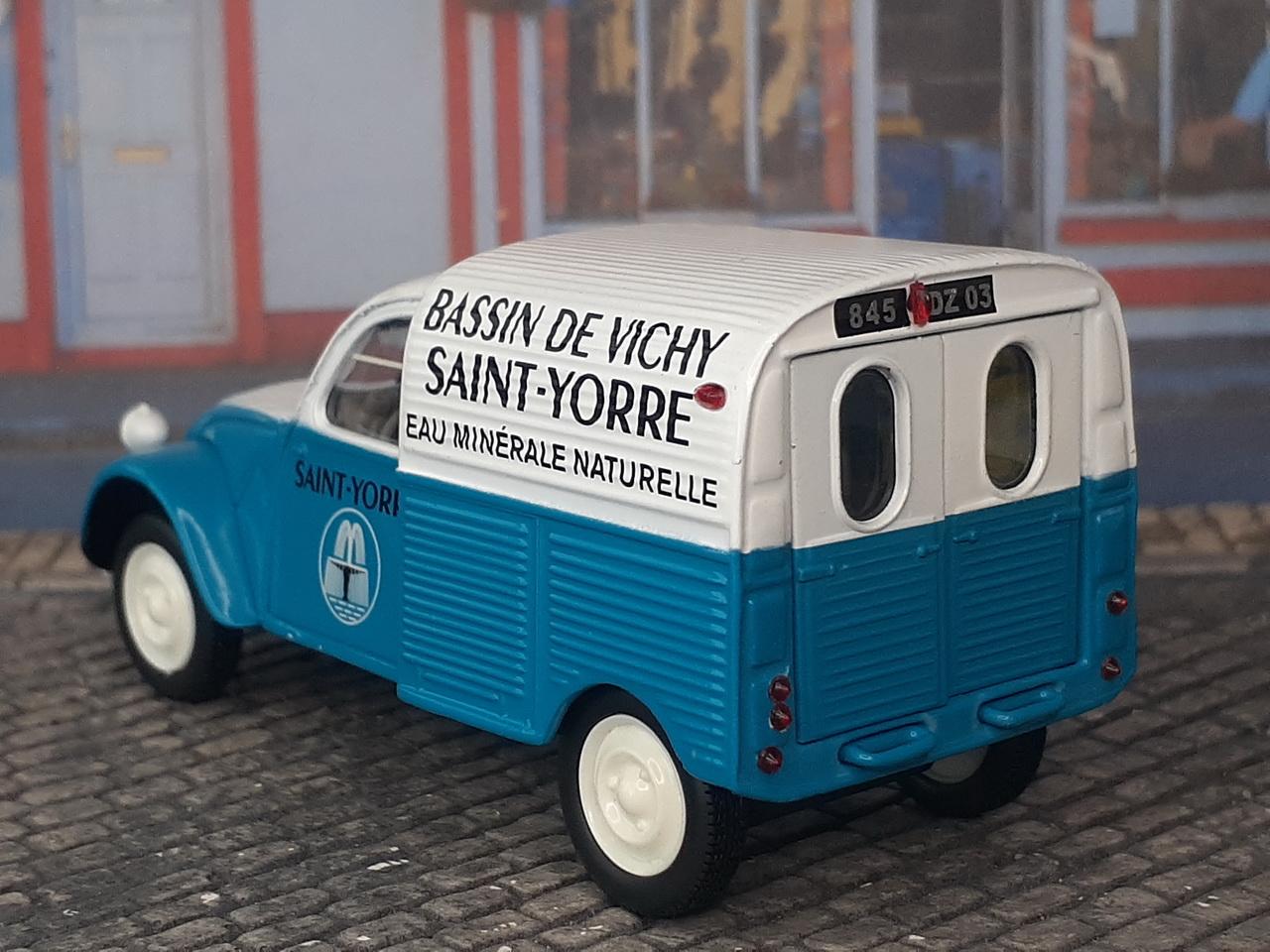 Citroën 2CV AZU – Saint Yorre - 1956