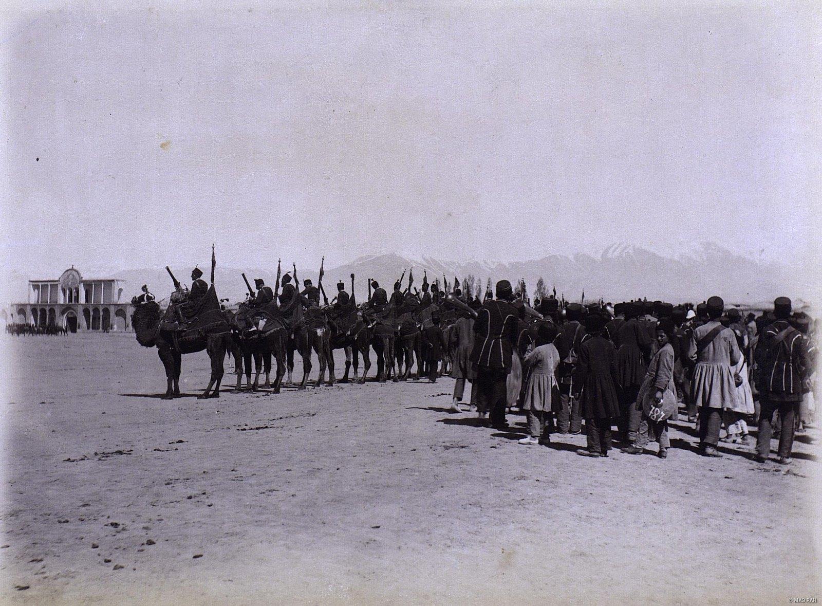 Персидская верблюжья артиллерия