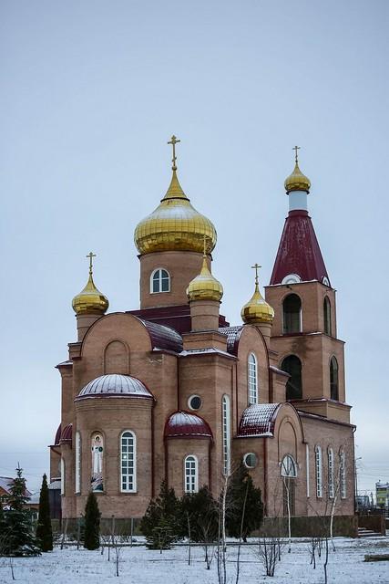 14 февраля 2021, Митрополит Кирилл совершил Литургию в соборе Архангела Михаила г. Михайловска