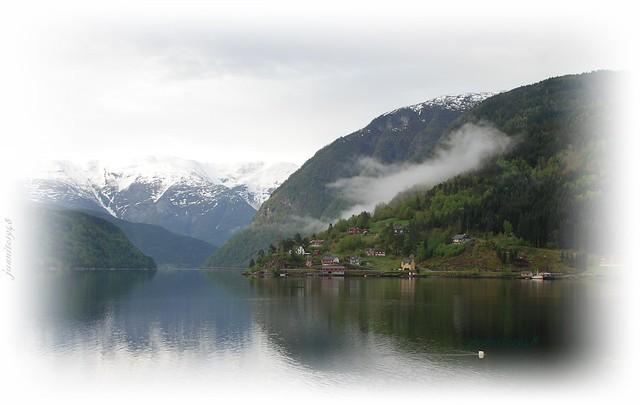 Fiordo Geiranger. Noruega