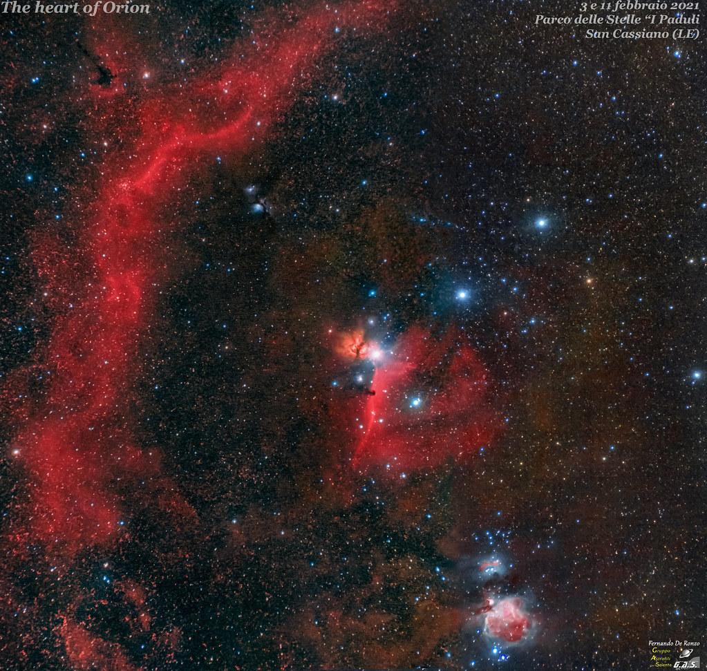 Mosaico Cuore di Orione logo