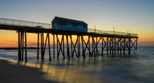 belmarnewjersey belmar pier longexposure sunrise dawn beach beachsunrise newjersey jerseyshore