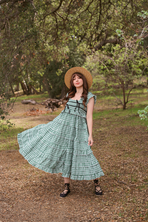Sister Jane DREAM Roller Gingham Midi Dress