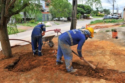 Colônia Agrícola Sucupira terá rede de esgoto tratado
