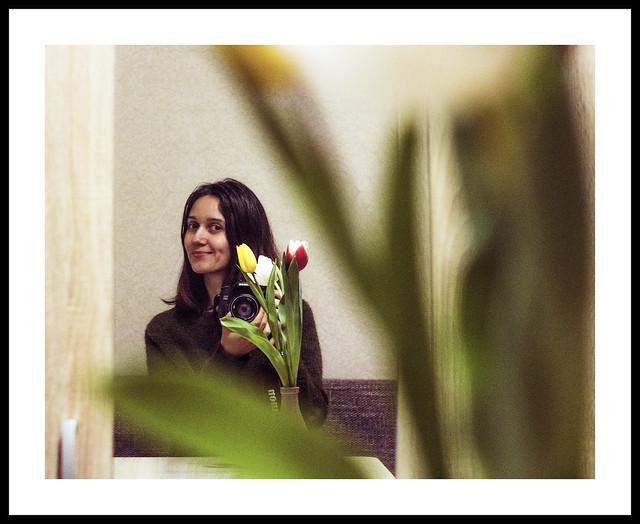 st. valentine's tulips