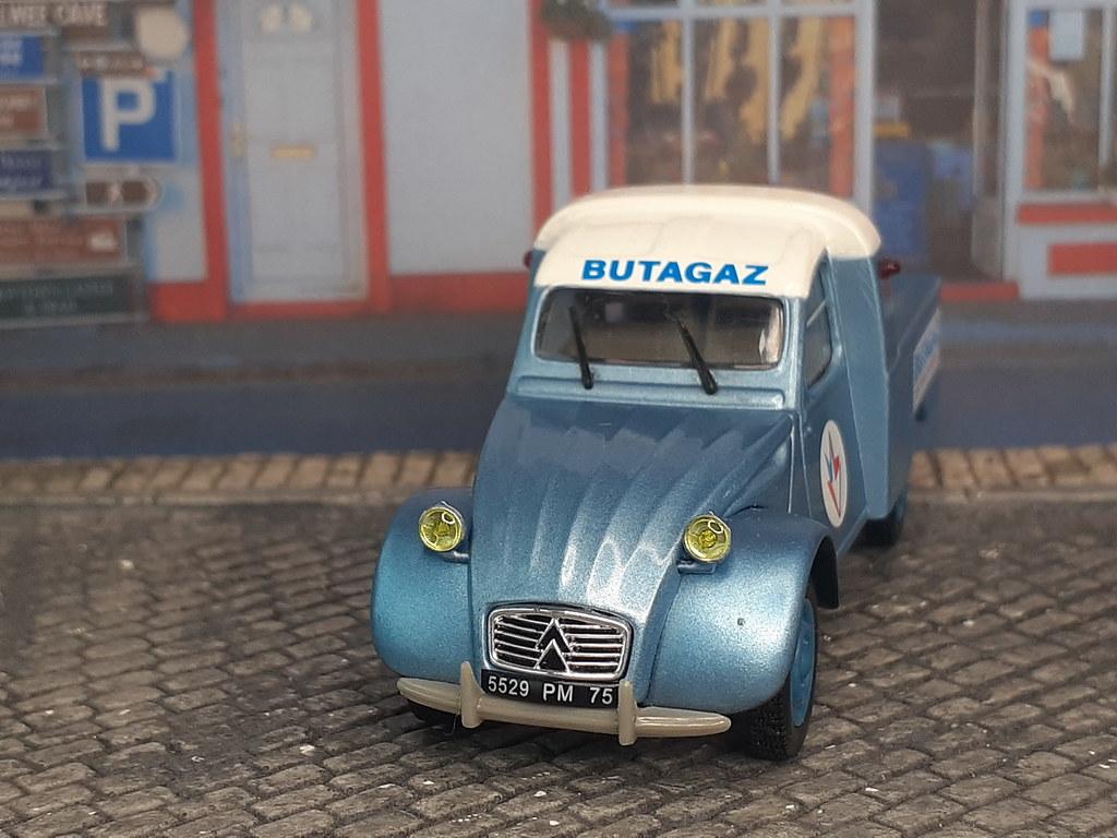 Citroën 2CV PickUp - Butagaz
