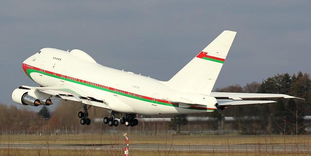 Royal Flight Oman, A4O-SO,MSN 21785,Boeing 747-SP27, 12.03.2016,HAM-EDDH, Hamburg