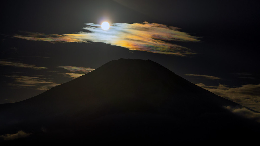 Mt. Fuji with a Pearl Shell on Top