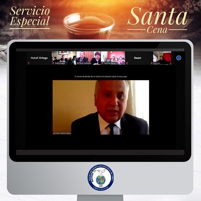 """""""Nuestro Pronto Auxilio en la Tribulación"""" Santa Cena en Chiguayante"""
