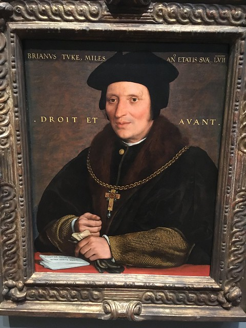 Hans Holbein the Younger: Sir Brian Tuke. National Gallery of Art, Washington DC