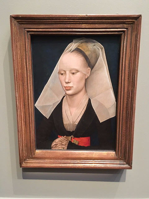 Rogier van der Weyden: Portrait of a Lady, National Gallery of Art, Washington DC