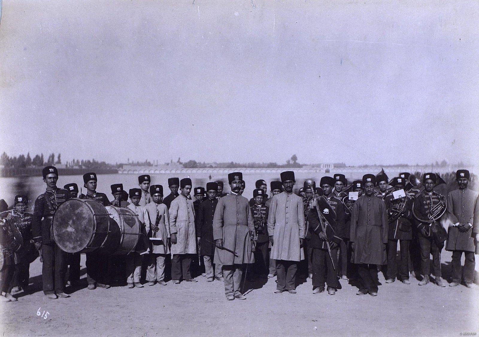 Персидский военный оркестр