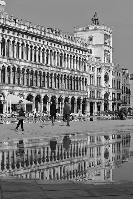 IMG_10344_1 - Venezia. St. Mark's Square. Reflection.