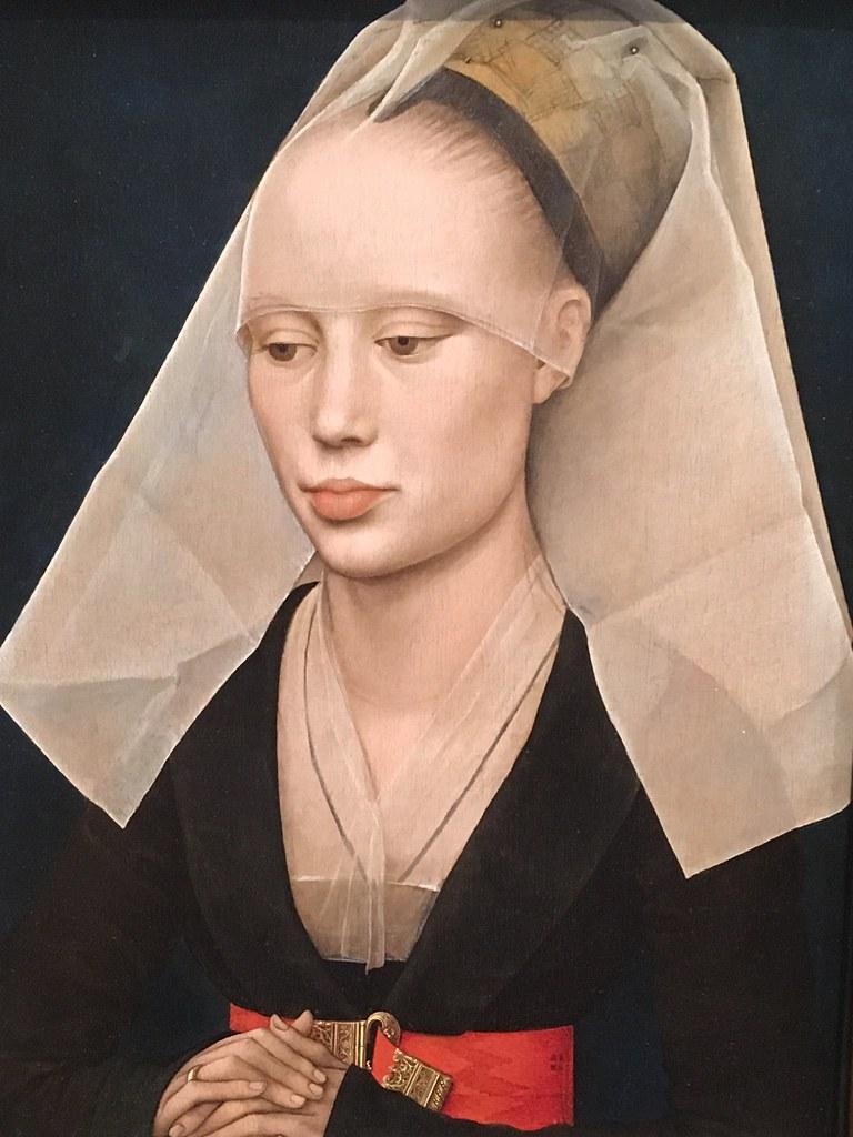 Rogier van der Weyden: Portrait of a Lady, National Gallery of Art, Washington DC