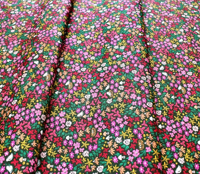 Art Gallery Fabrics The Flower Society Striking Gardenista