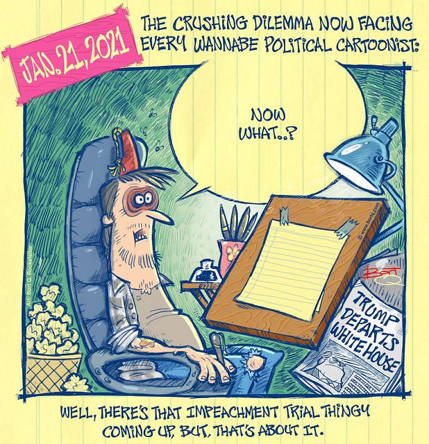 Cartoonist's Brain Fog.