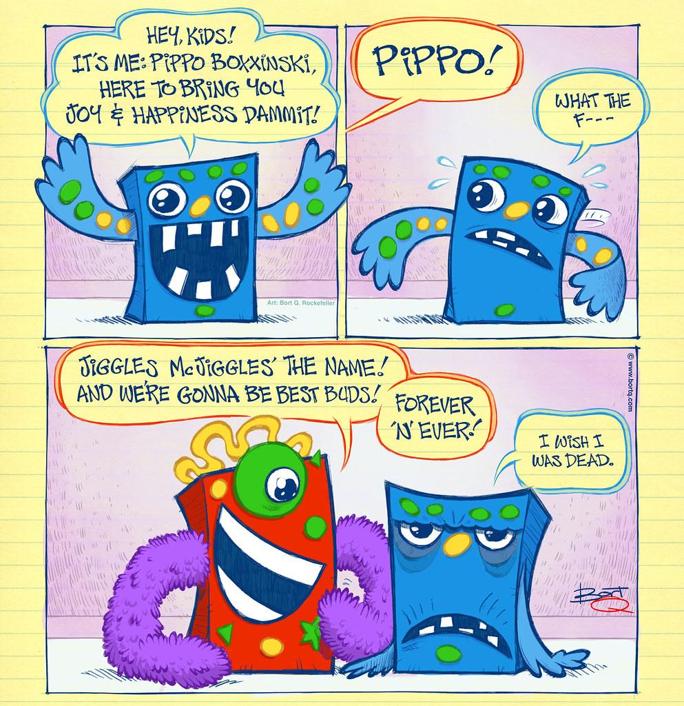 Pippo... Meet Jiggles!