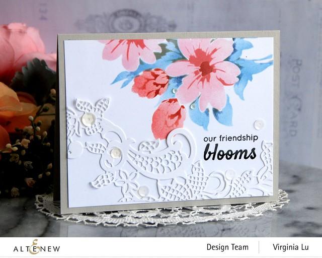 Altenew-Flower Bunch Simple Layering Stencil-Floral Lace Die Set
