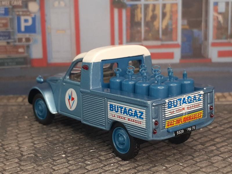 Butagaz - Norev- Citroën 2CV