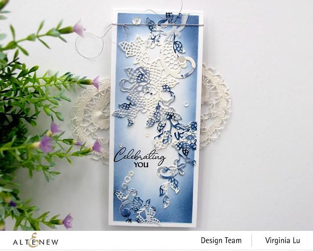 Altenew-Nesting SlimRectangles Die-Floral Lace Die-Monochrome Washi Tape-003