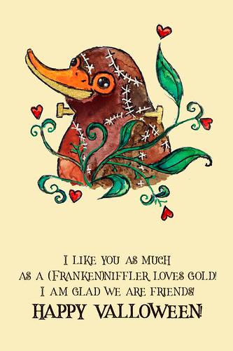 Valloween card