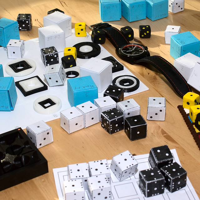 DWISS RS1-BB mechanical and prototypes of games