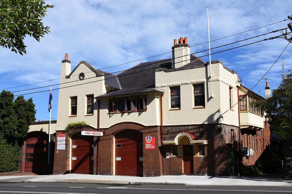 Fire Station, Glebe, Sydney, NSW.