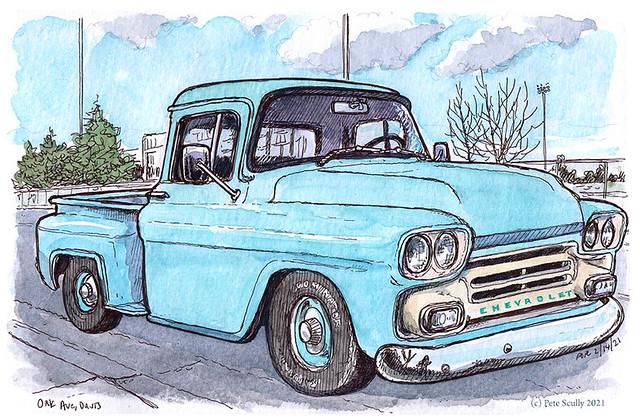chevrolet truck oak ave davis