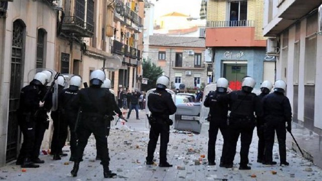 Violencia Policial en Linares