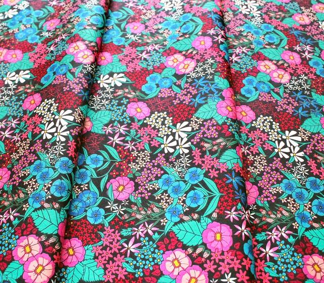 Art Gallery Fabrics The Flower Society Perennial Soiree