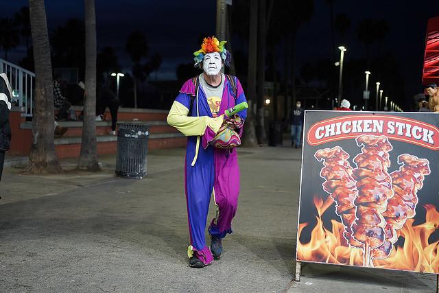 Creeper clown