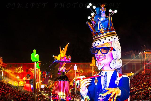 Souvenir du Carnaval de Nice sur la Côte d'Azur -1L8A1942