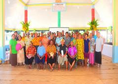 Island Strategic Plan (ISP) consultation, Nanumaga island, September 2020