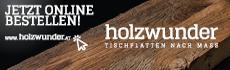 holzwunder Banner