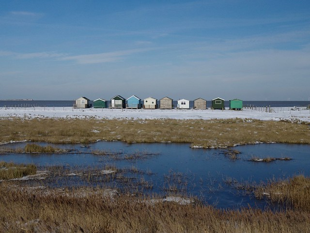A freezing walk from Whitstable to Faversham
