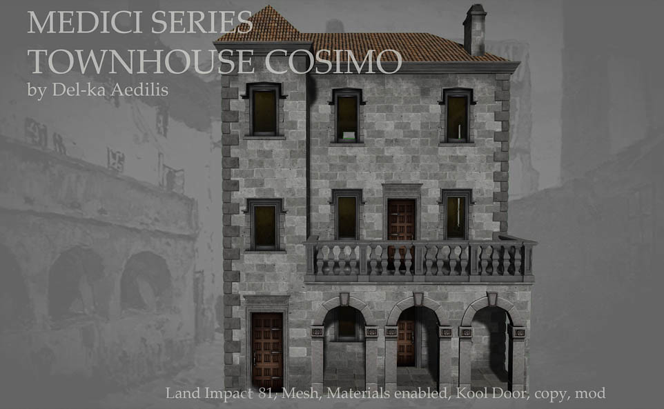 Medici Series – Townhouse Cosimo SL