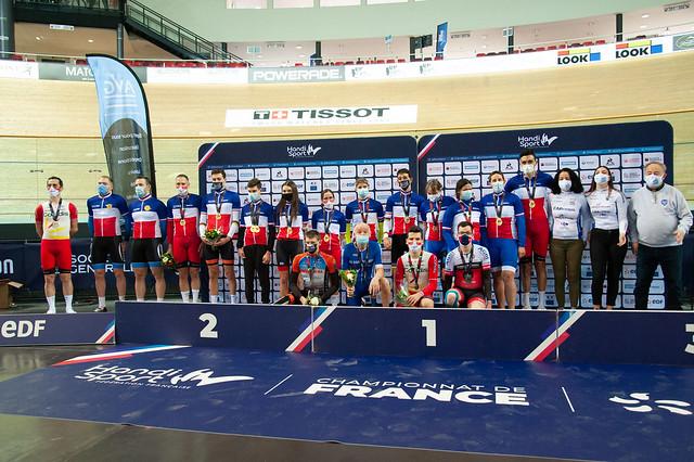 CYCLISME / Championnat de France sur Piste 2021 - Saint-Quentin-en-Yvelines